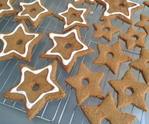 Spelt Molasses Gingerbread