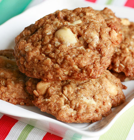 Cashew and Macadamia White Chip Cookies