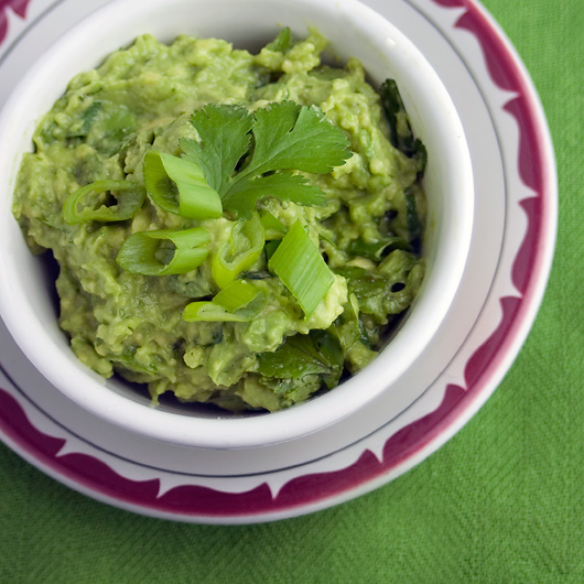 Spicy Green Jalepeno Guacamole