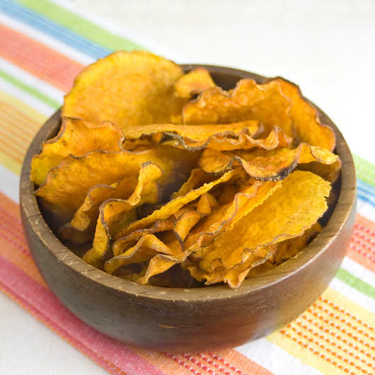 Raw Chilli & Cumin Sweet Potato Chips