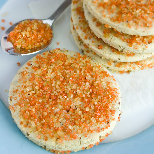 Orange Sugar Cookies