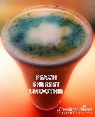 Peach Sherbet Smoothie