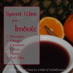Spiced Wine for Imbolc