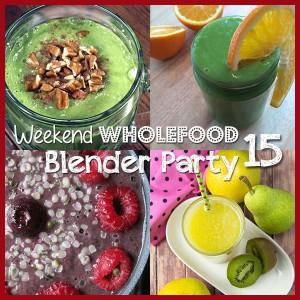 Weekend Wholefood Blender Party   Om Nom Ally