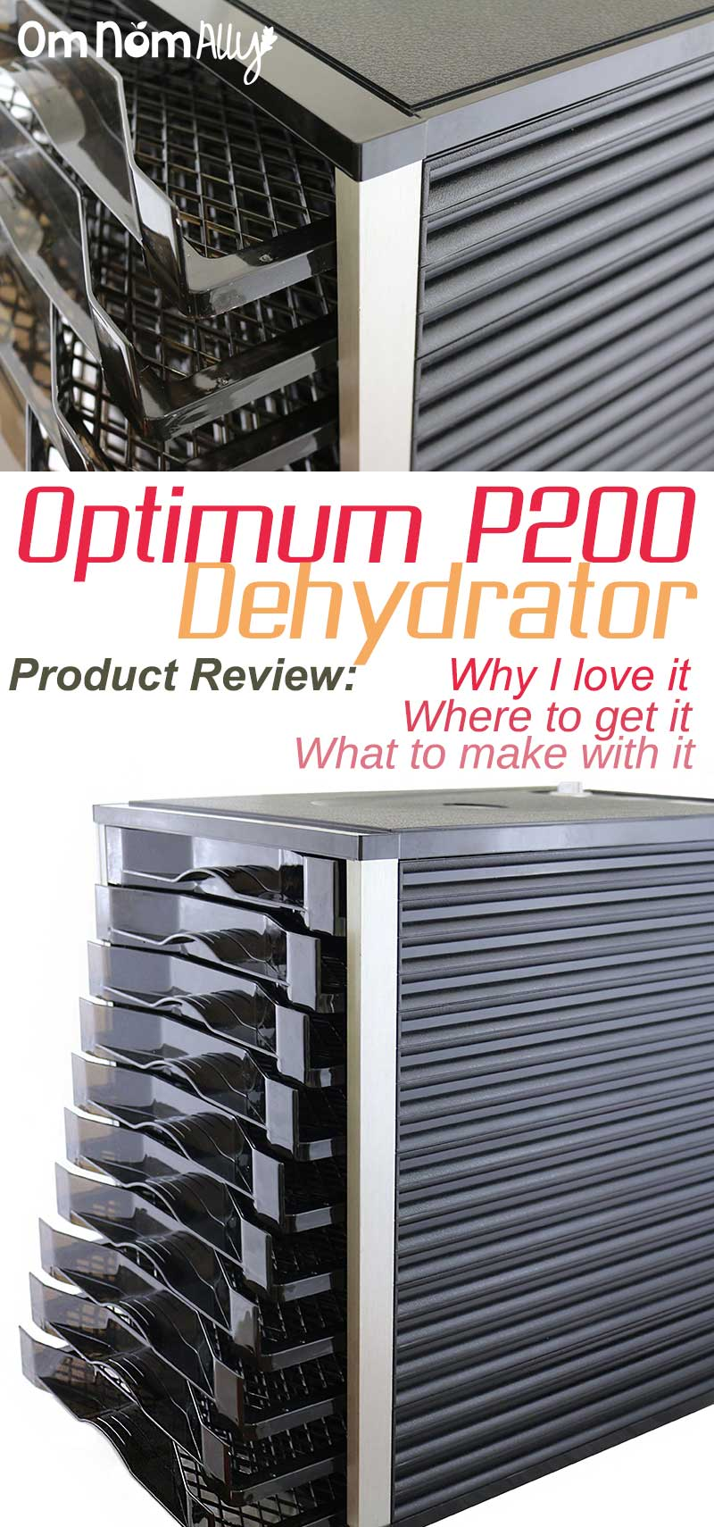 Product Review: Froothie Optimum P200 Dehydrator
