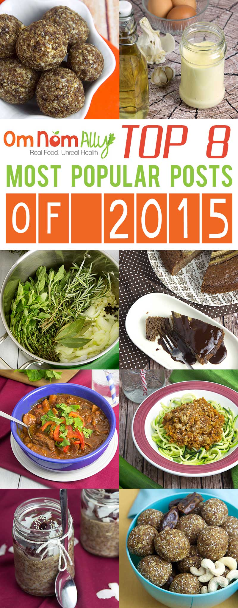 Top 8 Most Popular Posts of 2015 @OmNomAlly